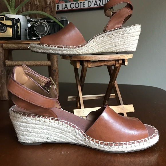 decd31128d6f Clarks Shoes -  CLARKS  Petrina Selma Espadrille Wedge Size 9.5